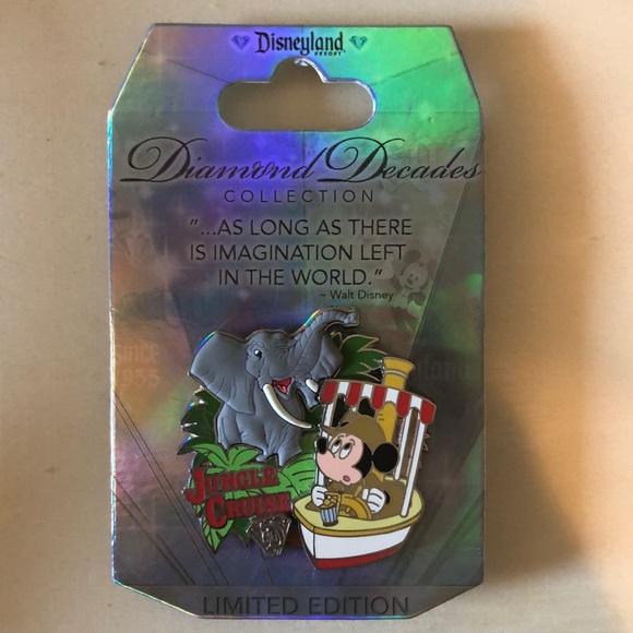 Disney Diamond Anniversary Pin - Jungle Cruise